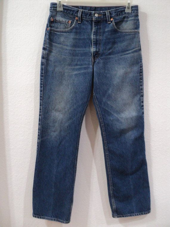 Vintage Levi's 517 Bootcut Jeans Made in by InTheDayVintageFinds