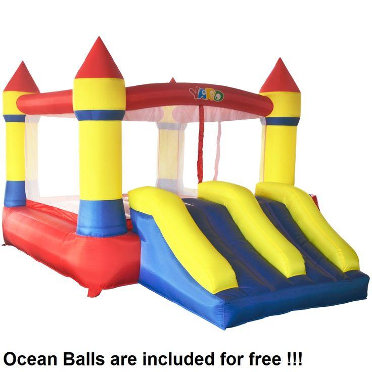 Лучшая цена Двор дома использовать надувной батут надувной отказов дом надувной замок для детей отправлен океан Мячи Для бесплатная #Двор #дома #использовать #надувной #батут #отказов #дом #замок #для #детей #отправлен #океан #Мячи #Для #бесплатная
