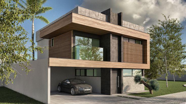 Projeto Unit arquitetos | Perspectiva House 04