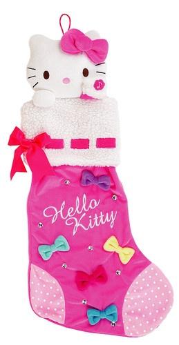 Pink Musical Hello Kitty Christmas Stocking #HelloKittyChristmas #ChristmasStocking