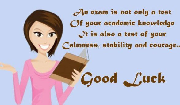 inspirational good luck messages | good luck wishes for exam