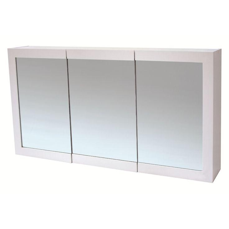 Bunnings 259 award 620 x 1200 x 160mm siena 3 door for Bathroom cabinet 750