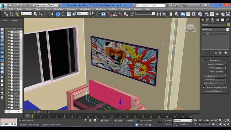 3Ds Max - 17 - Materiais