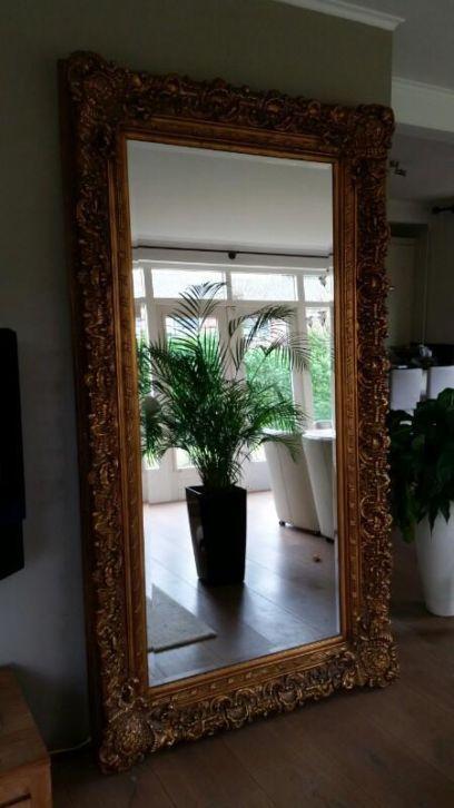 Barok spiegel 120x220 decoreren met spiegels en inspiratie opdoen pinterest - Spiegel in de woonkamer ...