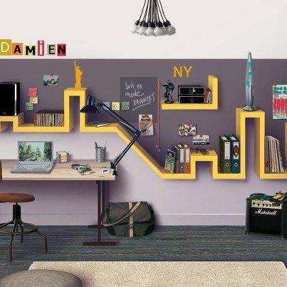 17 best images about bureaux on pinterest coins home - Idees de ma maison ...