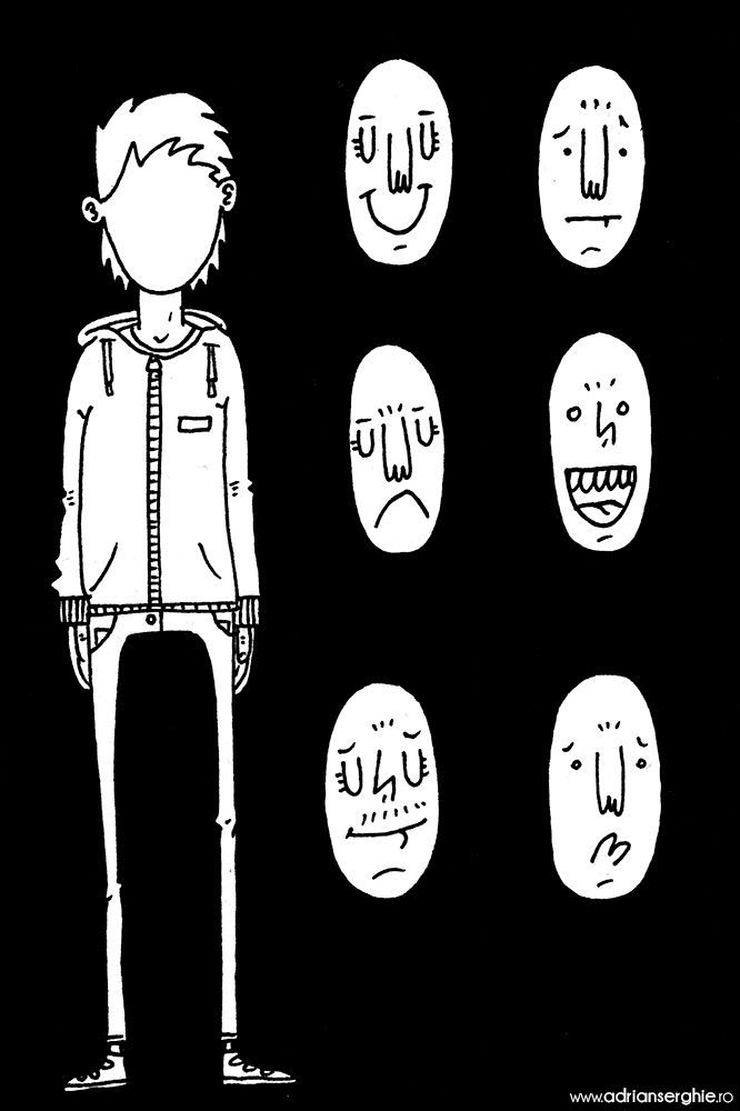 wear (ink paper illustration - drawing - adrianserghie   ello