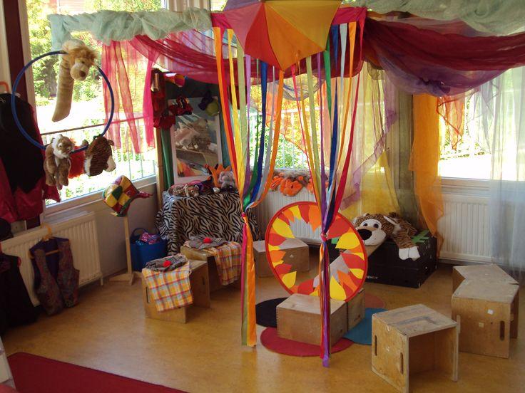 Thema het circus op de Prins Clausschool.