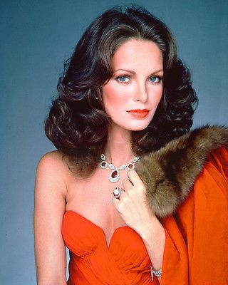 JACLYN SMITH CHARLIE'S ANGELS CHARLIES RED DRESS PHOTO