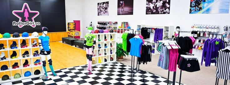 RollerGirl's Vancouver store and skate shop (185 E.11th Ave)