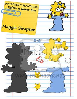 Plantillas Personajes Actuales Los Simpson