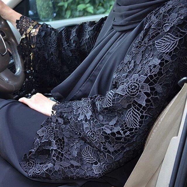 Black•lace #EsteeAudra #abaya