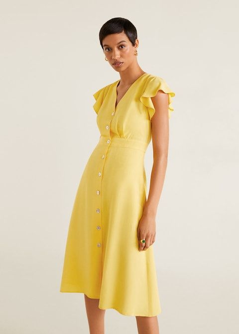 4d34d854f17 Платье-рубашка с вышивкой - Платья - Женская in 2019