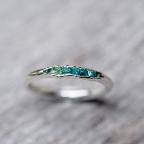 Smaragd Ring / / versteckte Edelsteine