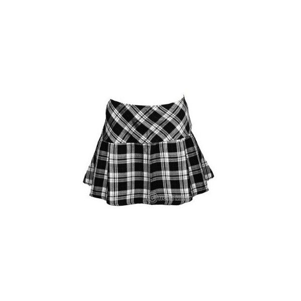 Hell Bunny Scottish Tartan Mini Skirt Wide Pleat - White & Red - Sizes... ($20) ❤ liked on Polyvore featuring skirts, mini skirts, bottoms, tartan skirt, white skirt, red skirt, plaid skirt and miniskirts