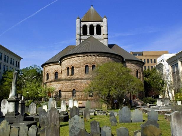 Churches and Graveyards, Charleston, one of the most haunted cities in America.