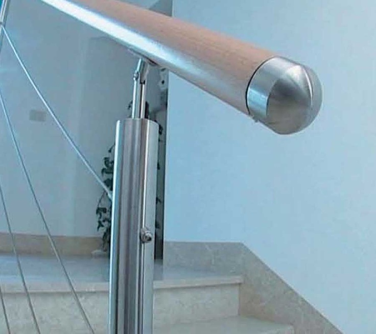 Stainless Cable Stair Railing System Stainless Railing Pinterest
