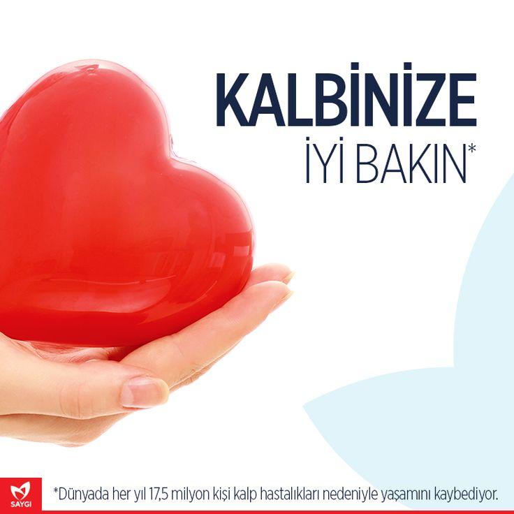 Dünyada her yıl 17,5 milyon kişi kalp hastalıkları nedeniyle yaşamını kaybediyor. Türkiye'de ise her 7 kişiden 1'i kalp krizi riskiyle karşı karşıya. Sağlıklı bir yaşam sürmek için dengeli beslenmeye ve daha hareketli olmaya özen gösteriniz.