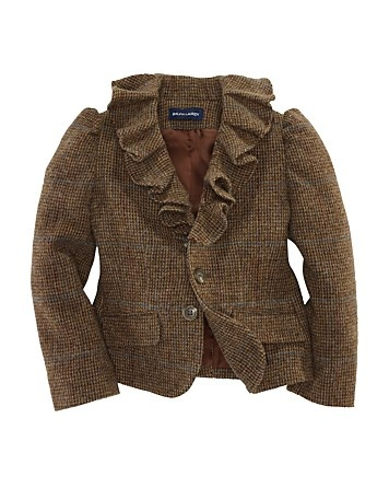 Ralph Lauren Childrenswear Girls' Little Tweed Jacket - Sizes 4-6 - Girls 2-6X - Girls - Kids - Bloomingdale's