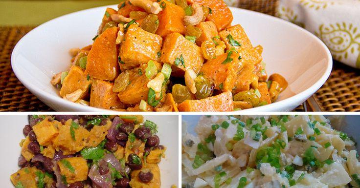 Receita de Salada de Batata-doce - http://topreceitasfaceis.com/receita-salada-batata-doce/