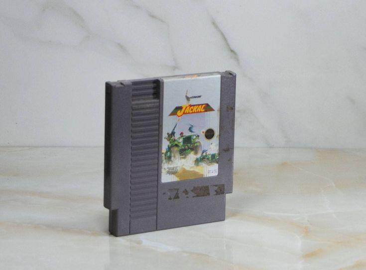 Vintage Nintendo Game, Jackal, Konami 1986, War Game, POW, nes Game, nes Console, Cartridge, Rescue, Nintendo Cartridge, Video Game, NES by winterparkcollect on Etsy