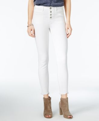 WILLIAM RAST Frayed Ankle Jeans