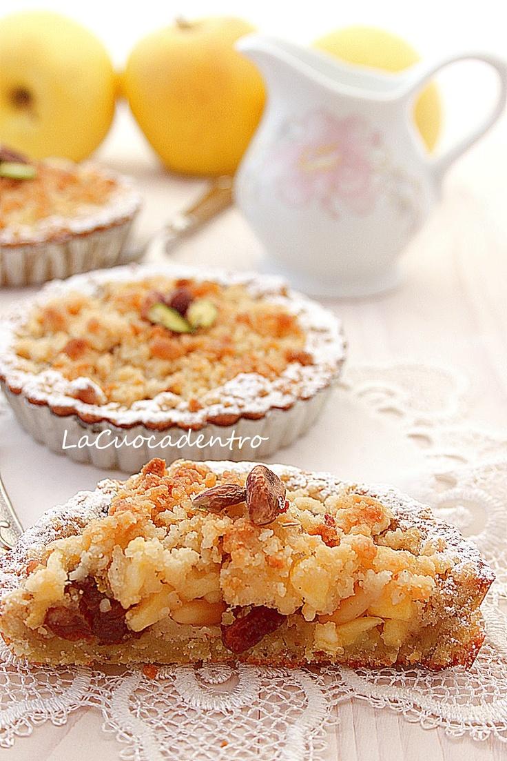 La Cuoca Dentro: bread and apple tarte