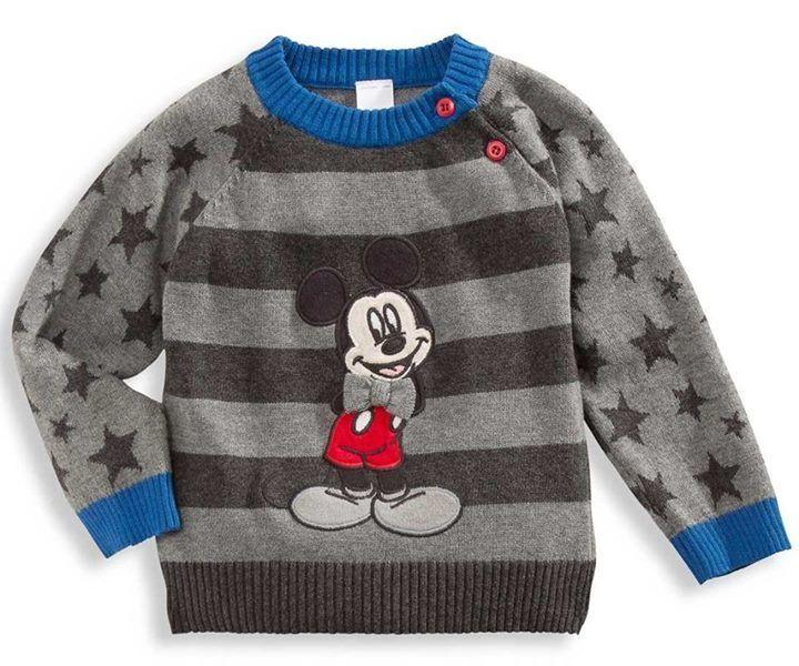 Sweter z Myszką Mickey :)   #DziecioCiuszek #dzieci #ciuszki #dziecięce #ubranka #moda #dziecięca #odzież #modadziecięca #sweterek #sweter #dziecko #mickey