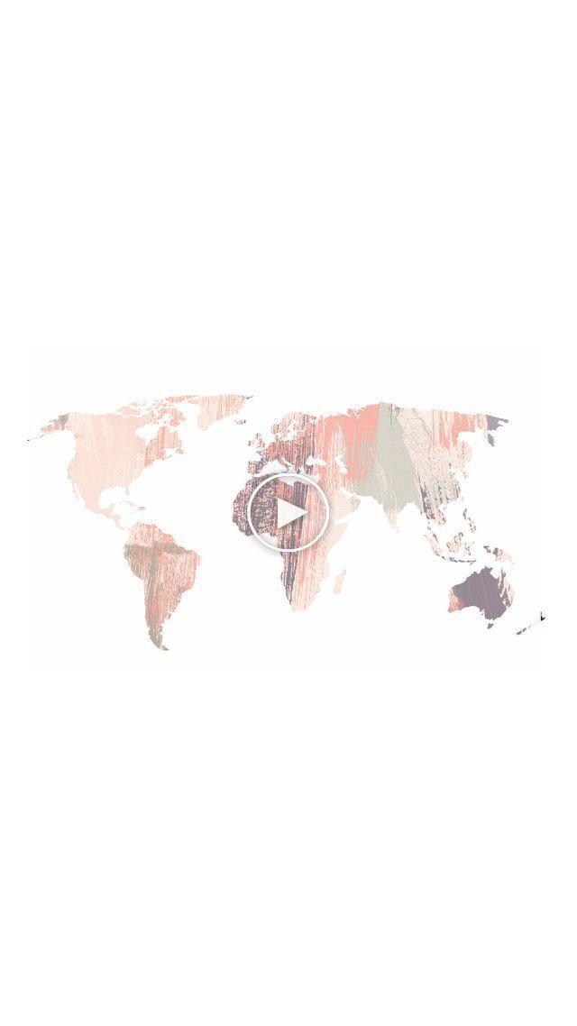 Pastel World Map Map Pastel World Tumblrbackgrounds