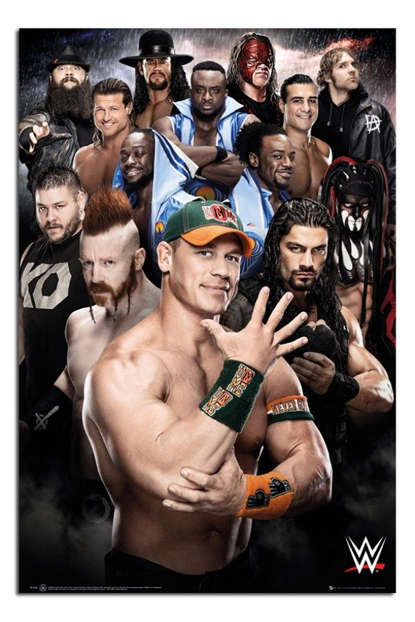 WWE 2016 Superstars Poster | iPosters