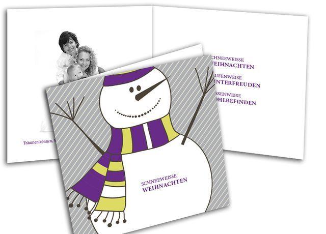 Weihnachtskarten+-+Schneeweiße+Weihnachten