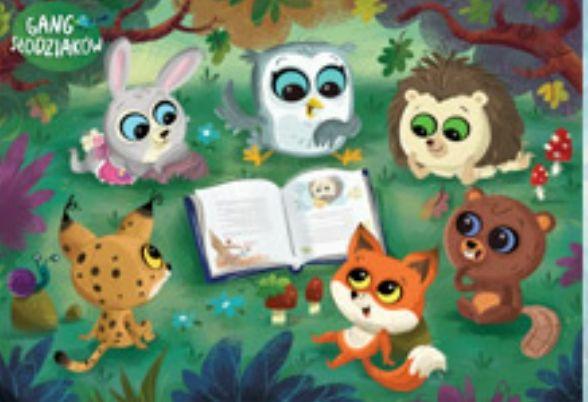Plakat Z Kolorowanka Gang Slodziakow Slodziaki 7658986989 Oficjalne Archiwum Allegro Character Art Fictional Characters