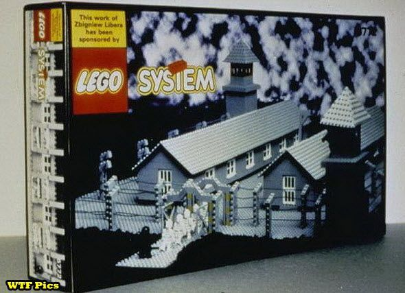 Lego Concentration Camp set: Nazi Lego, Camps Sets, Lego System, Holocaust Art, System Wtf, Lego Concentration, Concentration Camps, Lego Holocaust, Lego Nazi
