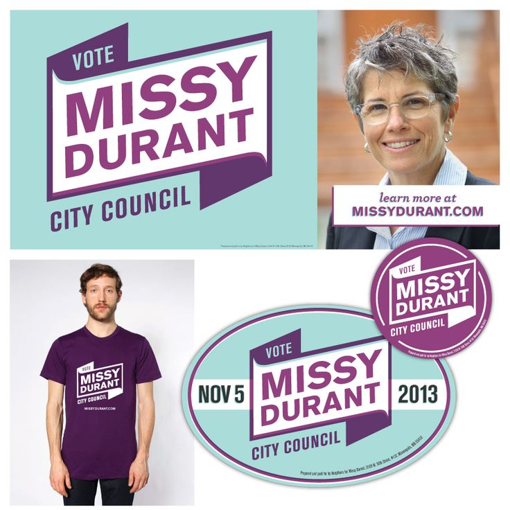 Campaign Graphics: Missy Durant for City Council - Minneapolis, MN Ward 13