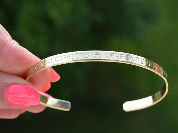 #FriendshipBracelet #coordinates #MensBracelet #CustomizedBracelet #HakunaMatataCuff #PersonalizedCuff     https://www.etsy.com/listing/541741616/engraved-cuff-custom-bracelet?ref=shop_home_active_8