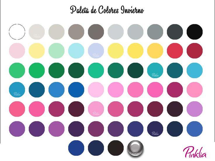 Colores para mujeres de estación invierno | Pinklia | Tu portal favorito para lucir bella y unica