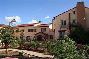 La Posada in Winslow, AZ. The last great railroad hotel....and if you don't know what these are, then you are missing out on some fabulous American history.