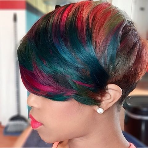 short hair dye styles 2016 fall amp winter 2017 hairstyles for black and 2431 | 110d1134bfb4e9374a6ee209d51cc2cc