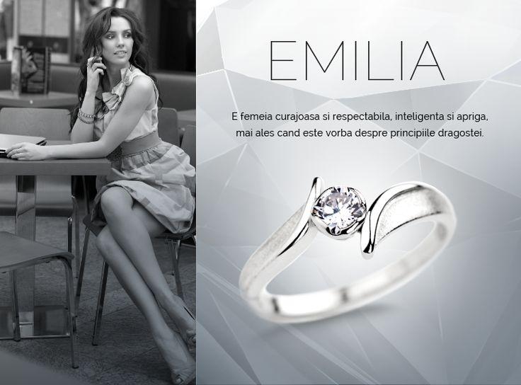 Colectia Emilia  #MadeInRomania #IneleDeLogodna www.coriolan.ro