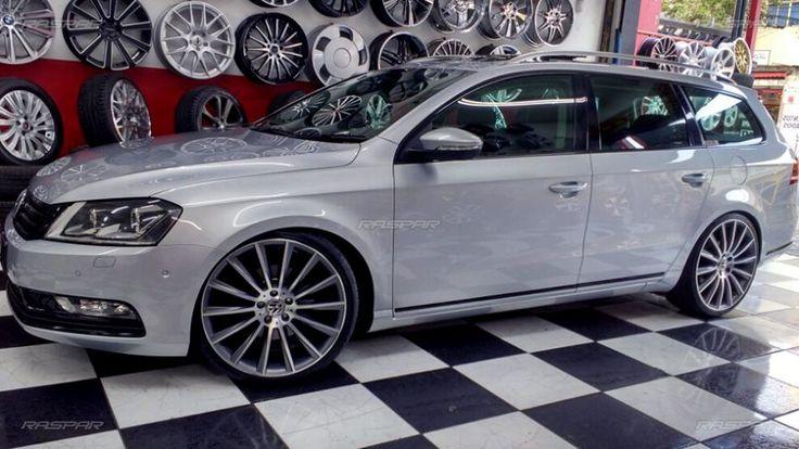 """Volkswagen Passat Variant 2014 com rodas   aro 20""""   e pneus  225/35/20 foto 1"""