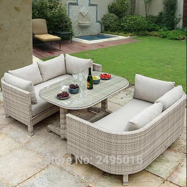 Online Shop 3 Pcs Outdoor Patio Furniture Dining Set Metal Frame