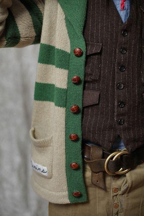 Knits Cardigans, Sweaters, Fashion Men, Men Clothing, Denim Shirts, Men Fashion, Layered Cake, Leather Belts, Style Fashion