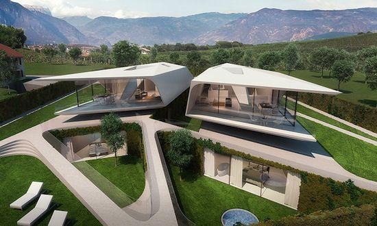 Oltre 25 fantastiche idee su architettura moderna di casa for Piani di casa di architettura del sud