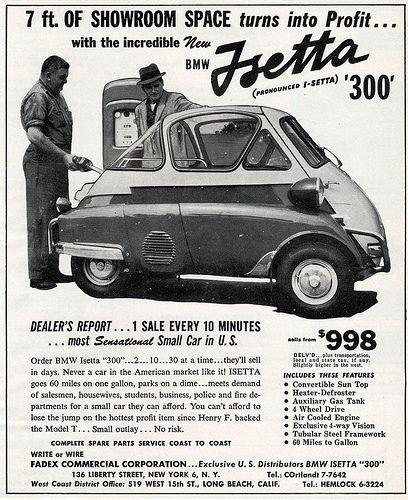 1957 BMW Isetta 300 Ad