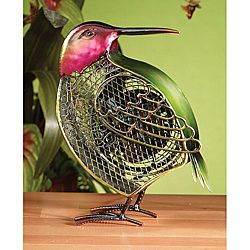 Deco Breeze DBF0261 Small Hummingbird Figurine Fan - IT'S A FAN!
