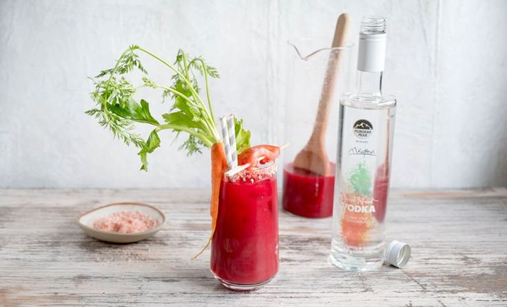 Carrot #vodka can be used by #mixologists to create new drinks. One example is Bloody Mary.