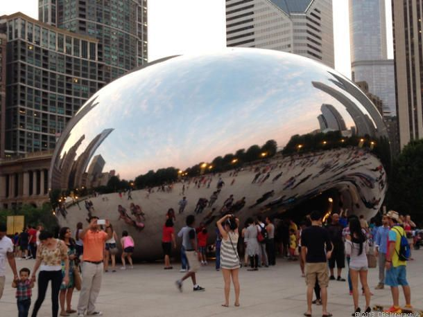 In Chicago, 'The Bean' is perfect interactive public art. It's hard to imagine anyone not smiling when they visit Anish Kapoor's masterpiece...