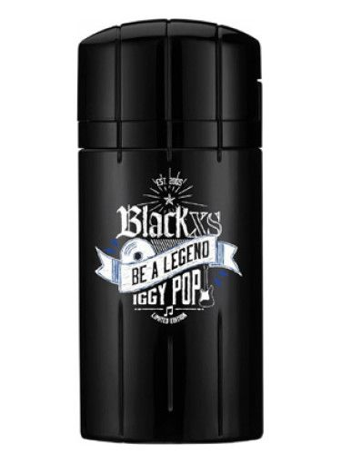 Black XS Be a Legend Iggy Pop Paco Rabanne para Hombres