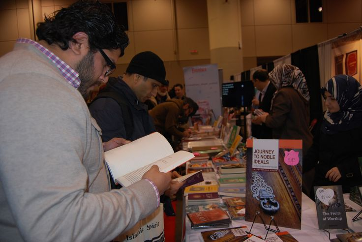 """#Gulen 's latest #book """"Journey to Noble Ideals"""" #soldout at #RISConvention"""