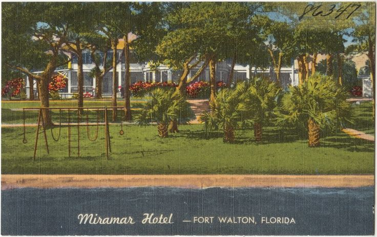 17 best images about northwest florida early hotels and for Beach city motors fort walton beach fl