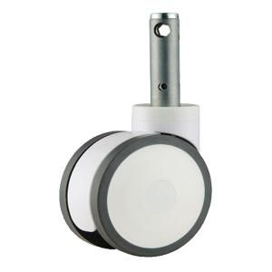 """Ruedas con freno central,ruedas Cama bariátrica, Ruletas bariátrica Material de la rueda: PU, PA, ABS Tamaño: 5 """" x 60 mm, 6 """" x 60mm altura de carga: 160 mm, 185 mm  Capacidad de carga: 100kg-150kg  Carga estática: 160kg ~ 210kg Cerradura: Cerradura Central Bearing Tipo: Doble cojinete de bolaCierre centralizado Opcional: Ø 32mm x 50mm, 28mm x 98.5mm Ø Ampliamente utilizado como cama de hospital ruedas, ruedas carro Médico, ruedas camilla, Laboratorio carro ruedas"""